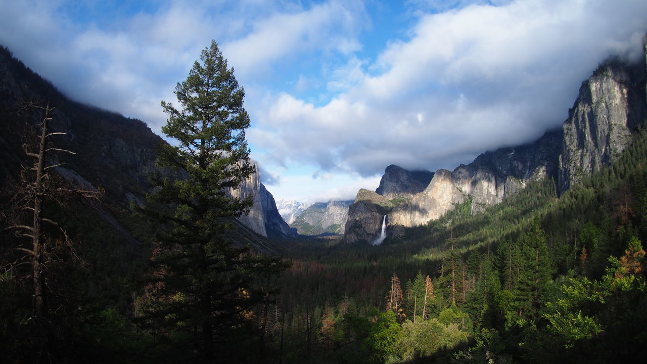 #The Great Outdoors - 2017 EyeEm Awards #yosemite Beauty In Nature Cloud - Sky Landscape Mountain Nature Outdoors Scenery Travel Destinations