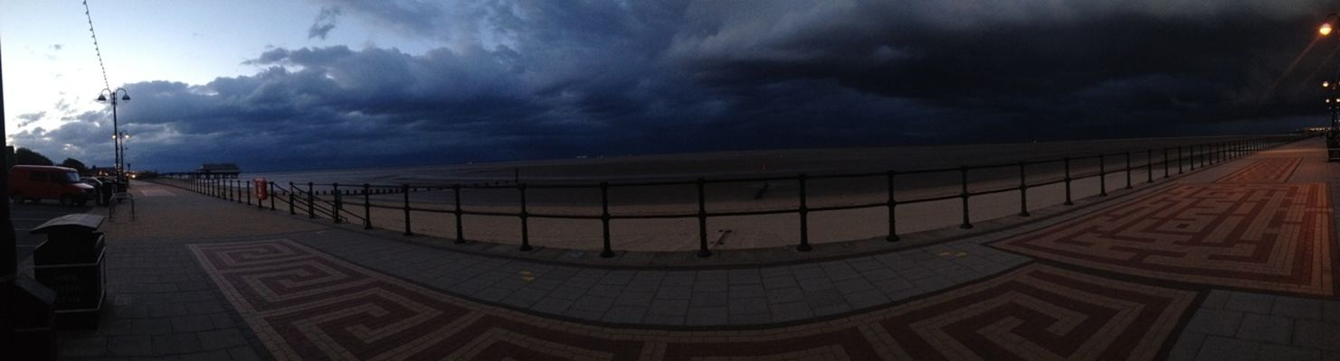 Storm at Cleethorpes Beach by cariss 🎀