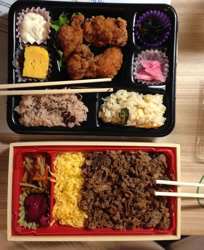 Show Us Your Takeaway! Bento Box Japanfood Foodlover JapanLife Bento Ultimate Japan Two Is Better Than One