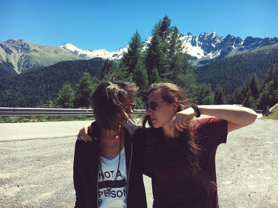 The Journey Is The Destination Mountains Livigno Bestfriend OnOurWay Journey Car