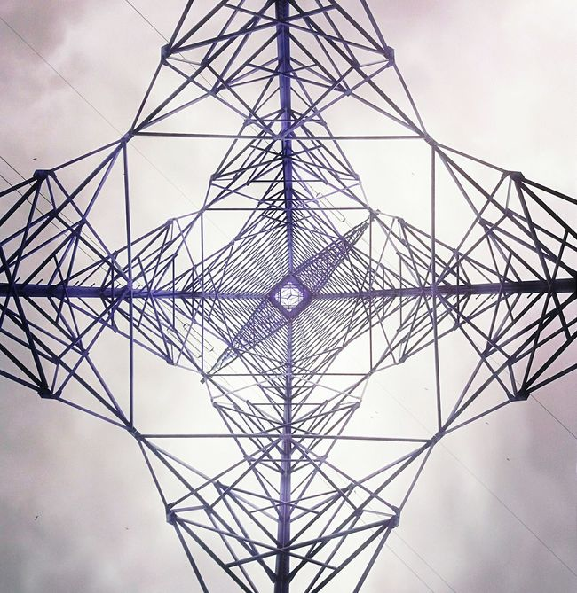 Pylon Symmetry Geometry Architecture Up EyeEm AMPt Community At Its Core