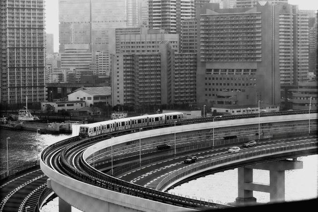 21st century bay. Tokyo,Japan Industrial Landscapes Urban Landscape Urban Geometry Urbanphotography Black & White Blackandwhite Ultimate Japan