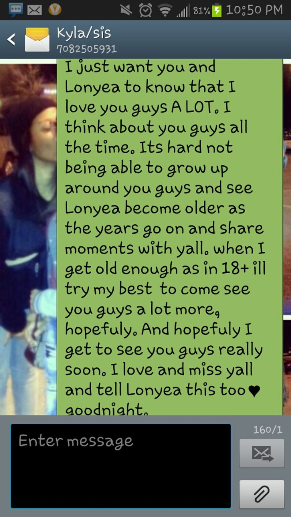 What I Sent My Lil Sisters In Chicago Last Night!♥