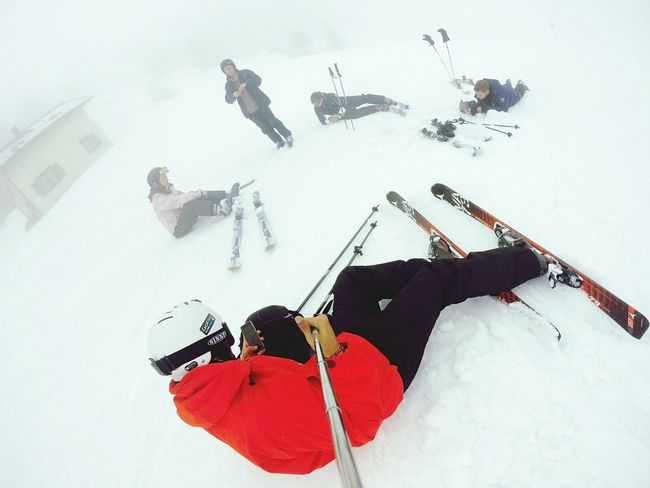 Perfect short break on the slopes! Skiing Austria