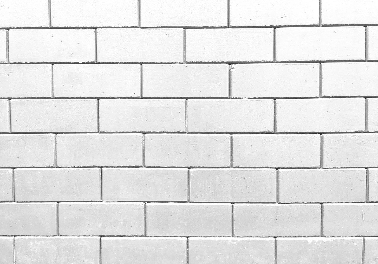 full frame, wall - building feature, brick wall, backgrounds, pattern, textured, white color, architecture, no people, built structure, day, outdoors, close-up