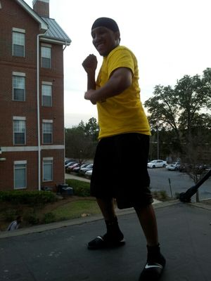 Dancing at Albany State University by Leroy