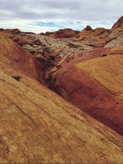 Valley of fire state park scenes Nature Geology Physical Geography Tranquility Rock Formation Beauty In Nature Scenics Sky Landscape Tranquil Scene Outdoors Day Rock - Object Extreme Terrain No People Mountain Arid Climate Nevada Arizona Desert