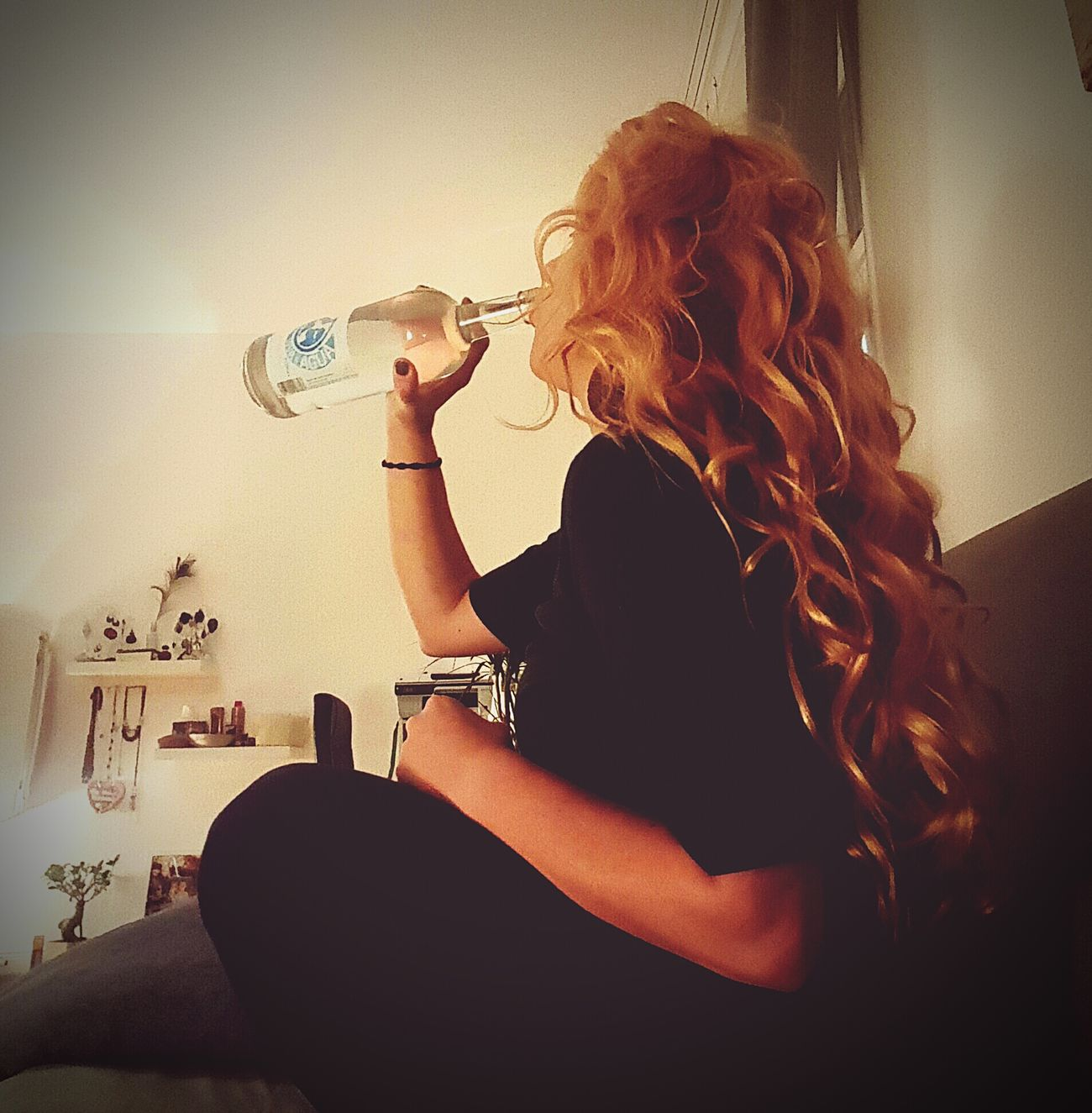 Hair Hairstyle Blonde Longhair Strawberryblond Redhead That's Me Relaxing Amazing Woman Locks Locken