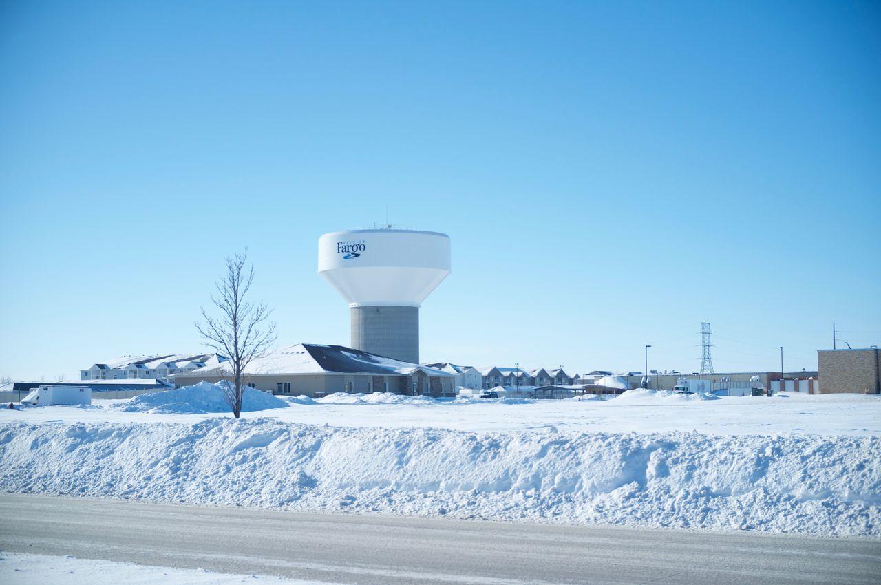 Cold Temperature Day Fargo Frozen Nature No People North Dakota Outdoors Sky Snow Snowing South Fargo Travel White Color Winter Winter