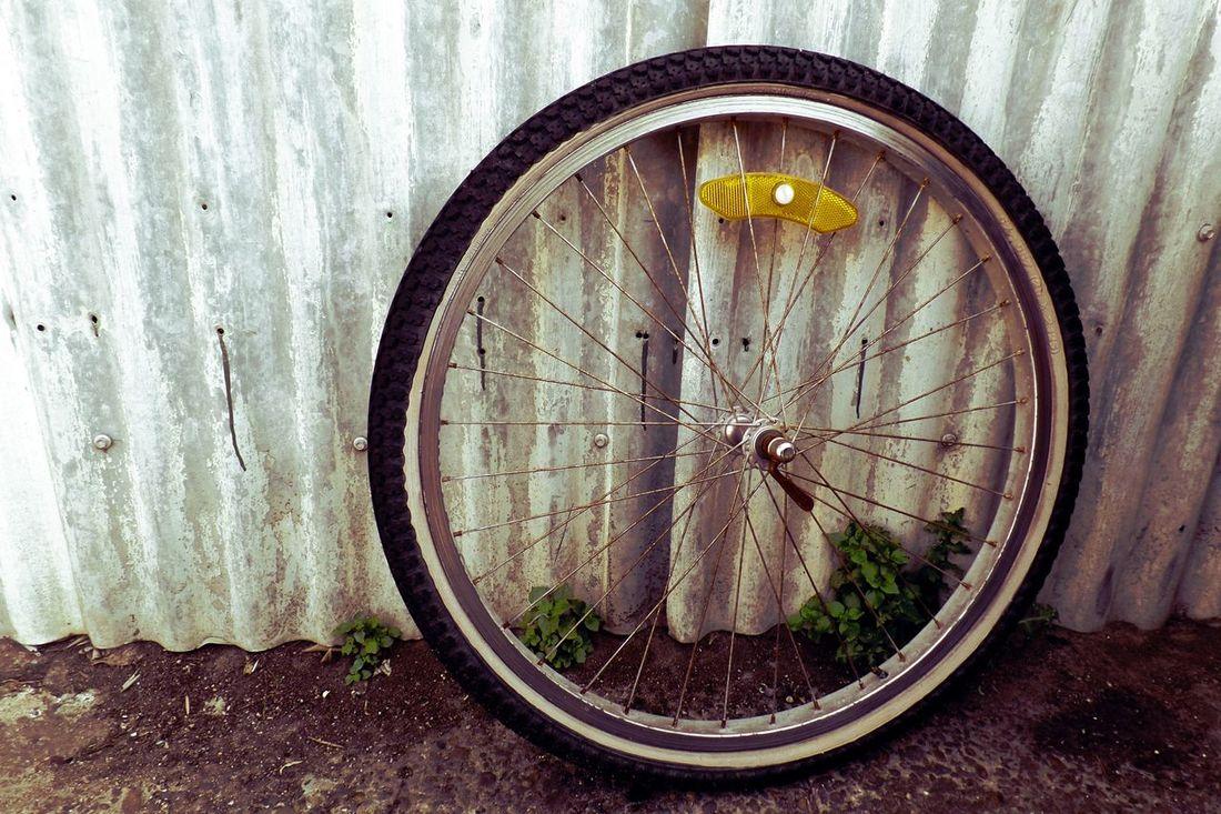 Bicycle Wheels Urbanphotography Found