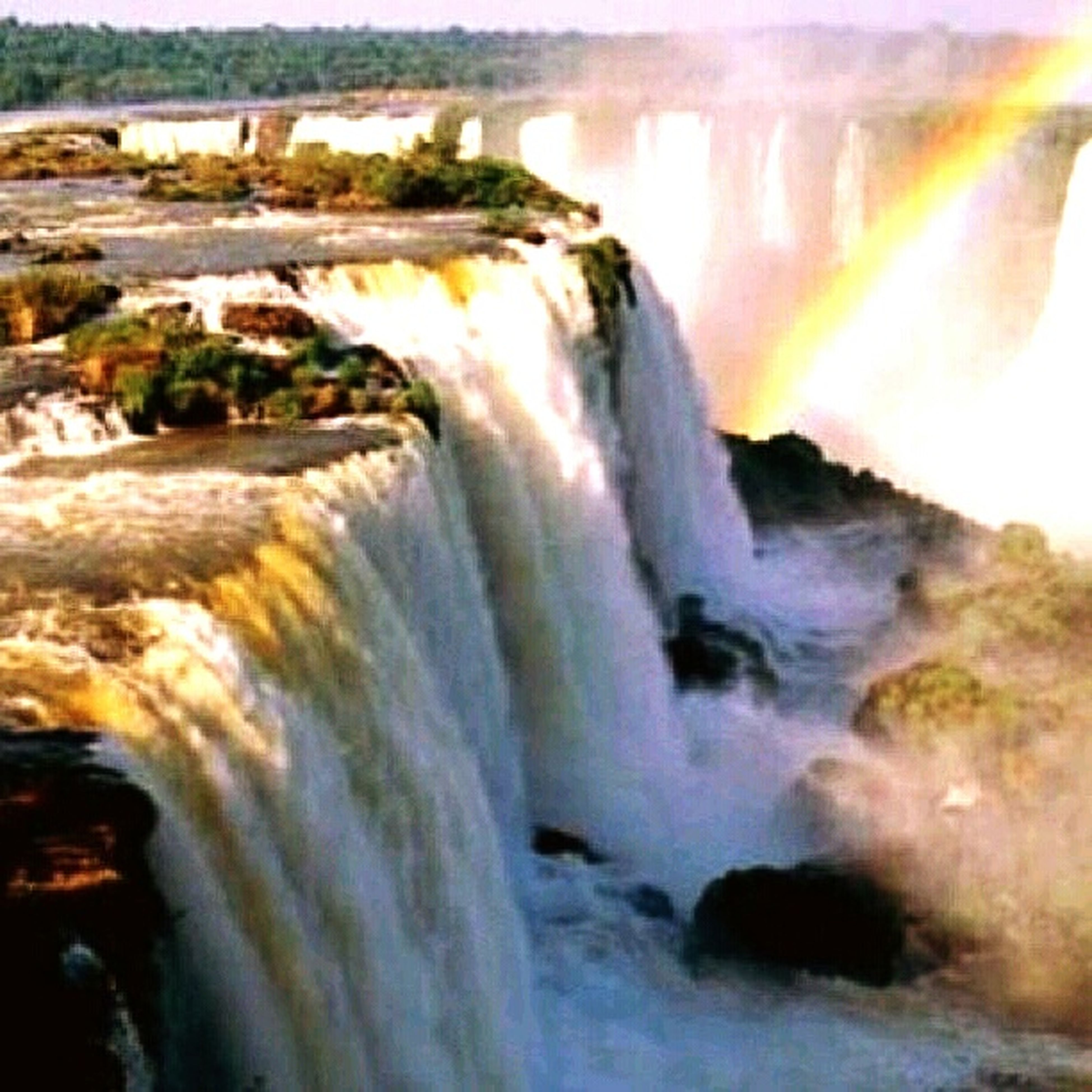 water, motion, beauty in nature, nature, waterfall, no people, scenics, sea, day, outdoors, power in nature, wave, sky