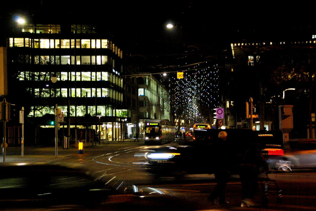 You can't see clearly... Architecture Building Exterior Built Structure City City City Life City Life City Movement City Street Cityscape Finding New Frontiers Illuminated Movement Night Night Lights Nightphotography No People Noise Nordic Nordic Light Once In A Lifetime Outdoors Solitude Transportation Travel Destinations