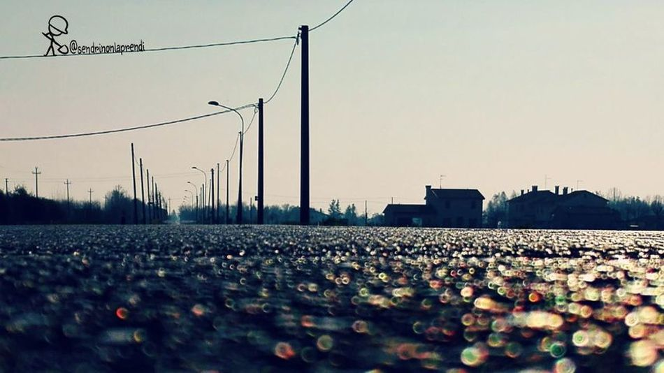 Like An Ant Road Bokeh Photography Ontheroad Rural Landscape Low Angle