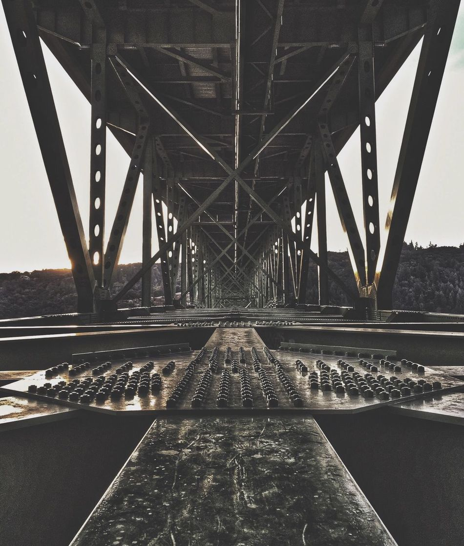 I ain't scared of the fall, I've felt the ground before. . . Bridge - Man Made Structure Built Structure Connection Transportation Engineering Architecture Outdoors Day Underneath No People Sky Weekly_feature Weekly Welcome EyeEm Best Shots Weekly Eyeem Agameoftones Rsa_architecture