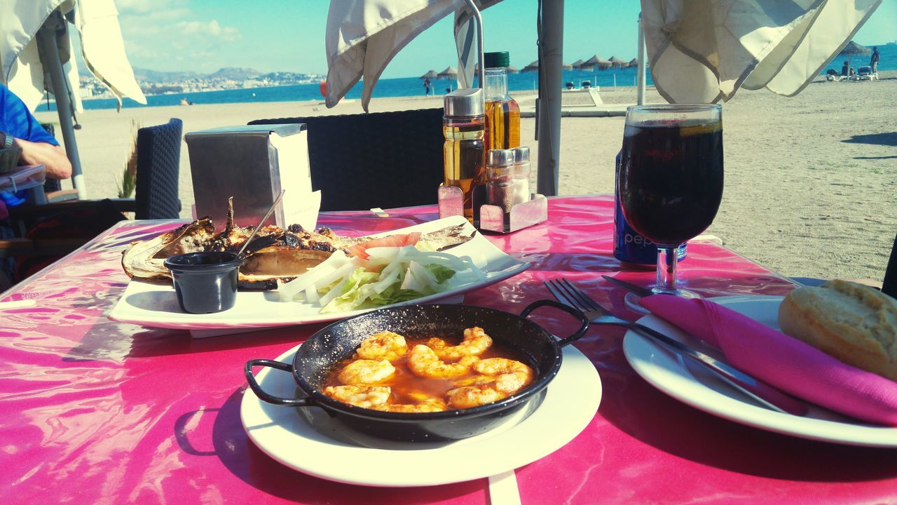 Food And Drink Fish Shrimps Gambas Close-up SPAIN Malaga Sea Mar Sea Food Seafoods Healthy Eating Drinking Glass Serving Size Food Freshness Ready-to-eat Plate Food And Drink Table Freshness Sea And Sky Beach Beachtime Beach Time