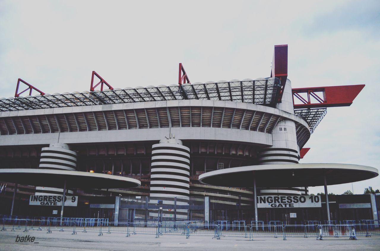 San Siro Architecture Built Structure Building Exterior Sky Outdoors Football SanSiroStadium Italy Milan