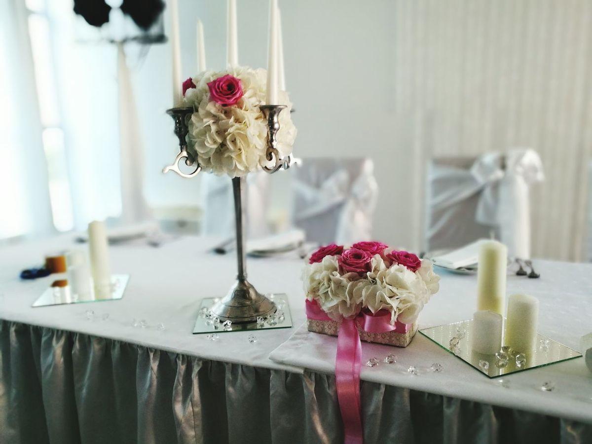 Weding Weding Photo Wedding Day Weding Decor Wedingday Table White Flowers First Eyeem Photo