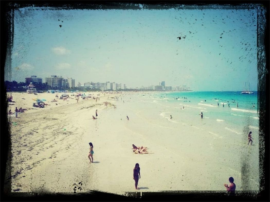At Miami Beach