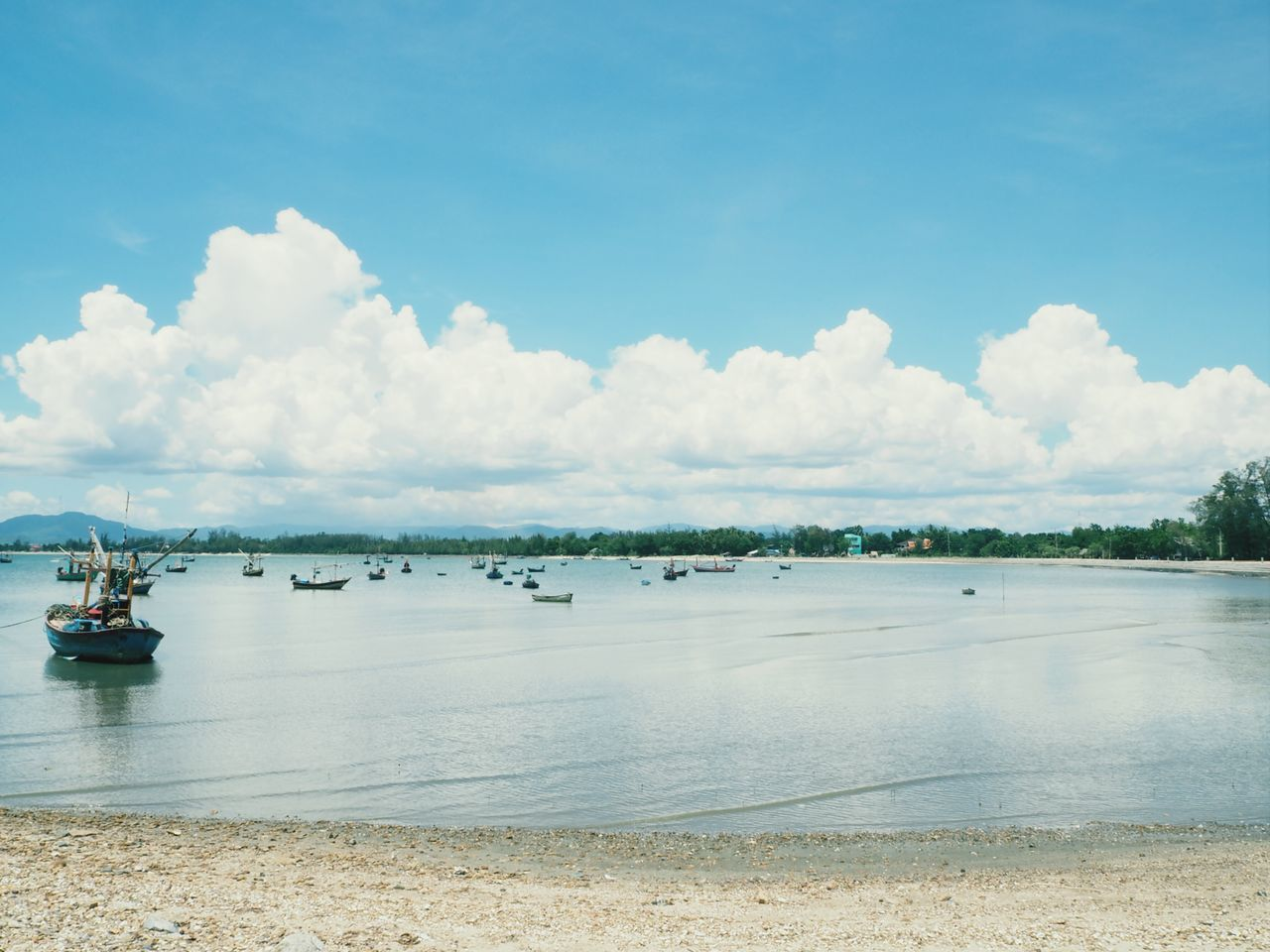 water, sky, cloud - sky, sea, scenics, tranquility, day, nature, outdoors, tranquil scene, beauty in nature, no people, transportation, nautical vessel, beach, travel destinations, horizon over water