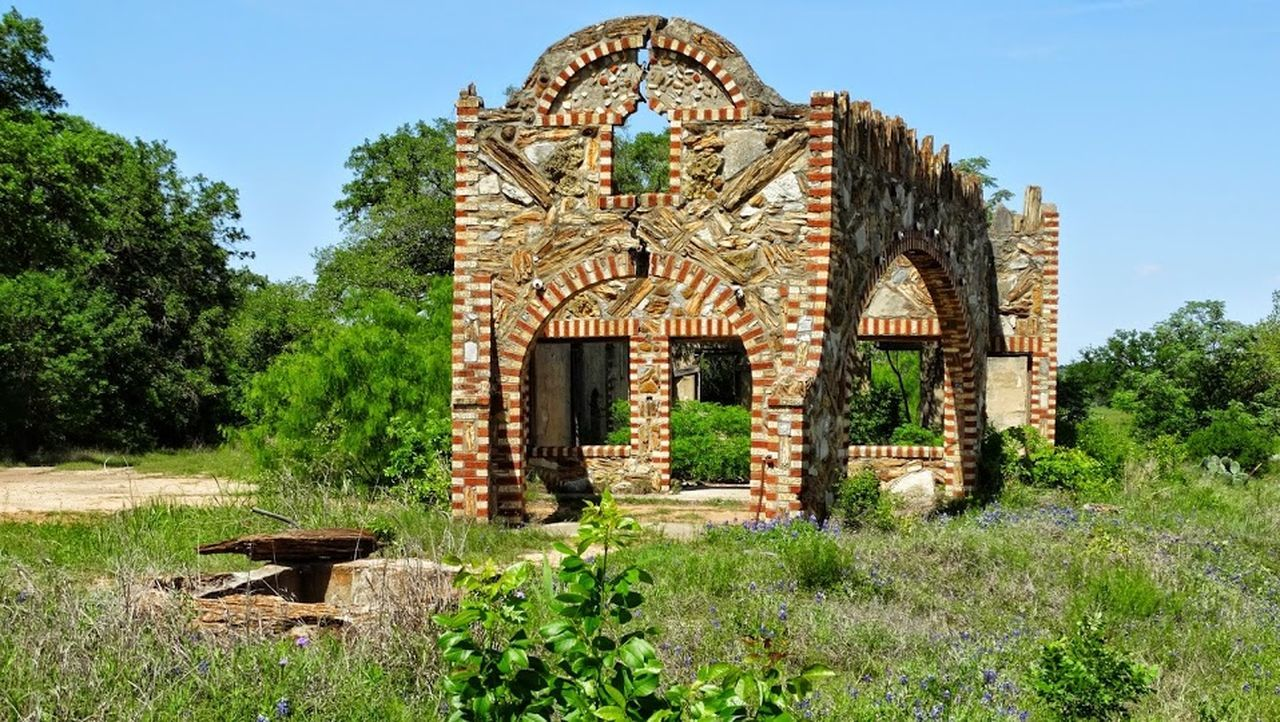 Ancient Civilization Arch Architecture Building Exterior Built Structure Day Entrance Façade Glen Ros Historic History Old Old Buildings Preciousstones Religion Speakeasy Stone Wall Texas