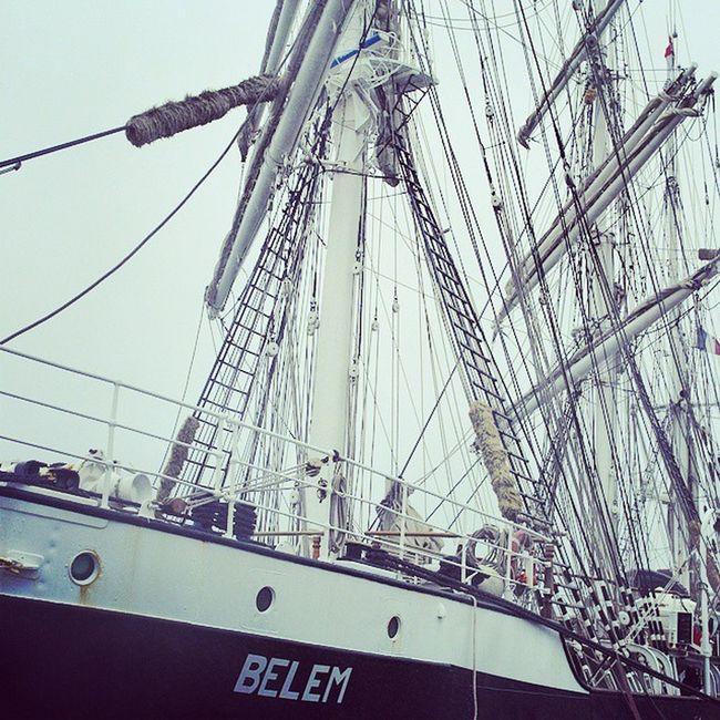 Belém port d'attache Naoned 3mats Concarneau