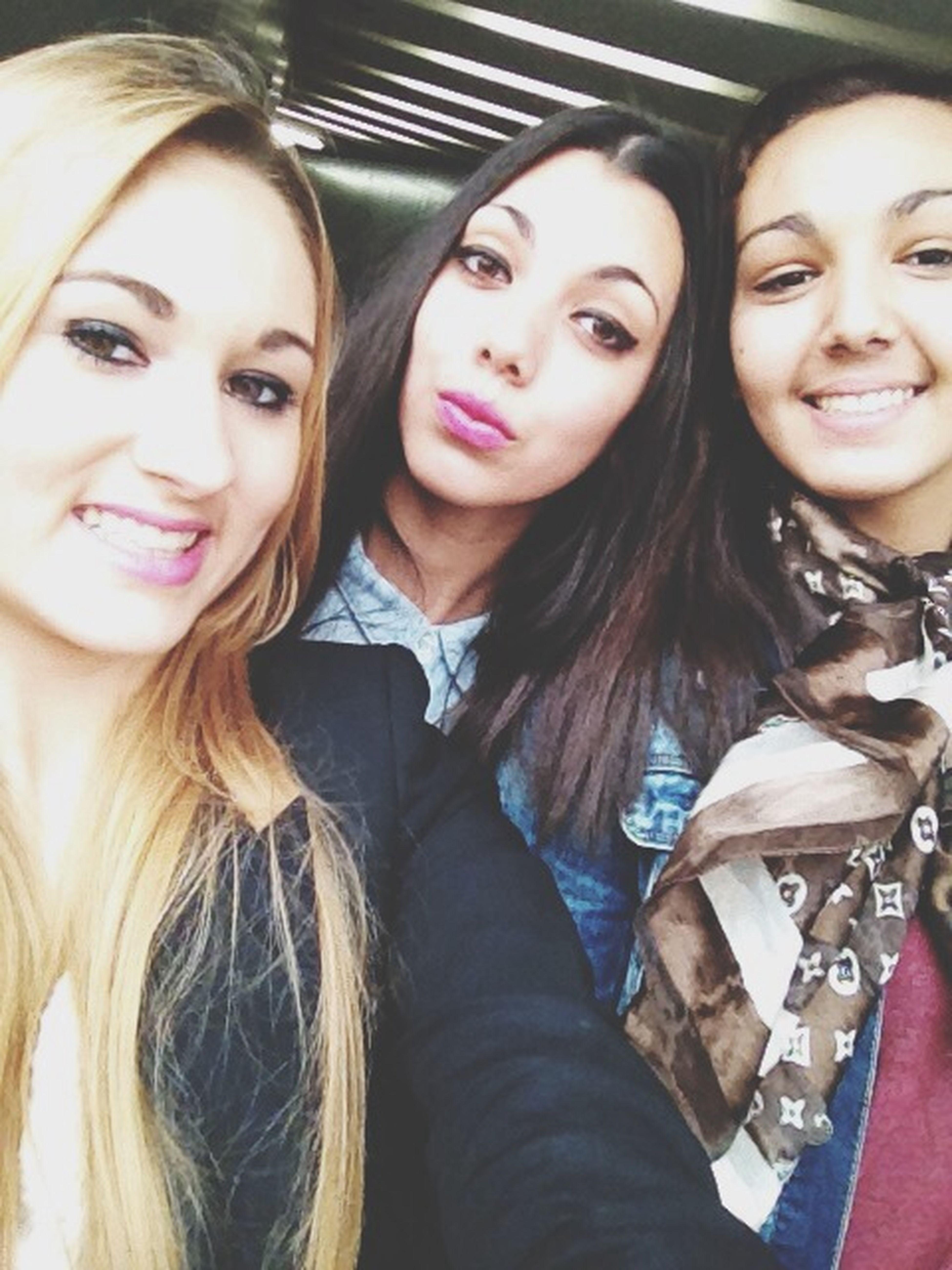 Morgane, Najiba.? Friends Cute Love