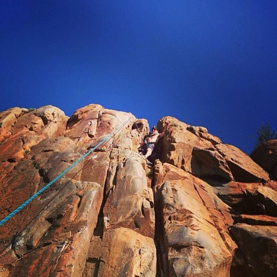 Descent challenge with this route @quentinmiller RockClimbing Outdoors Sandiego BareEssentials