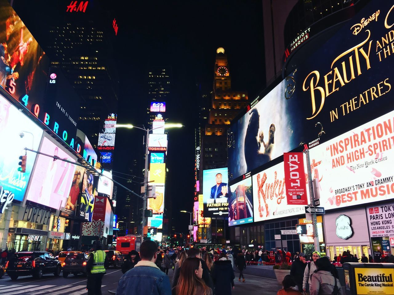 New York City People New York Times Square NYC TimesSquare Skyscraper High Buildings Busy Street Lights New York ❤