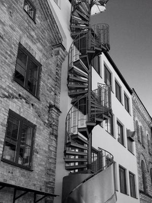The World Needs More Spiral Staircases at Gustavsbergs Hamn by axrii
