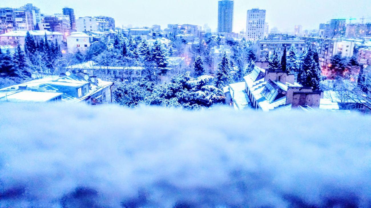 City Winter Snow ❄ Lights