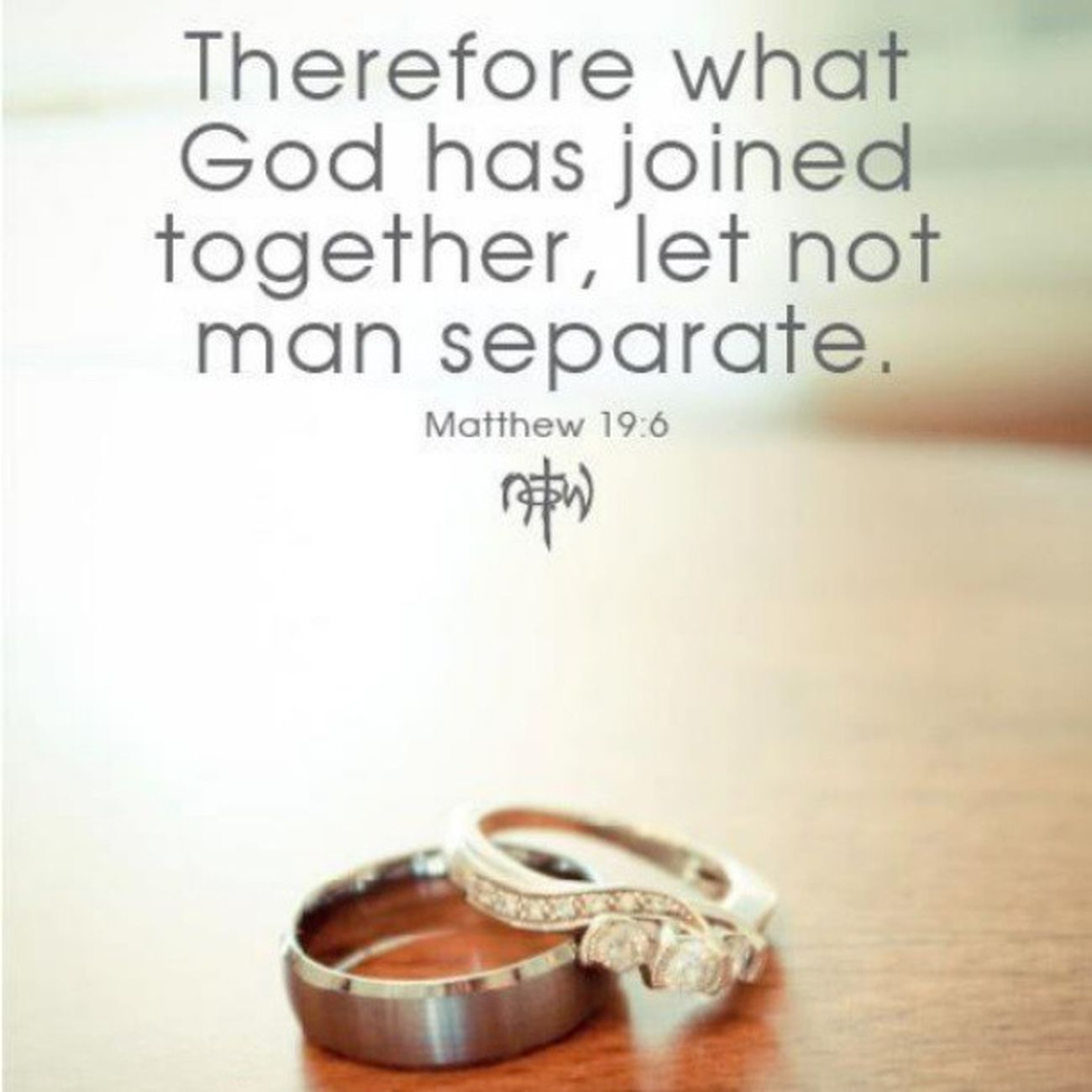 Amen! Love Ordained Thirdstring Marriage