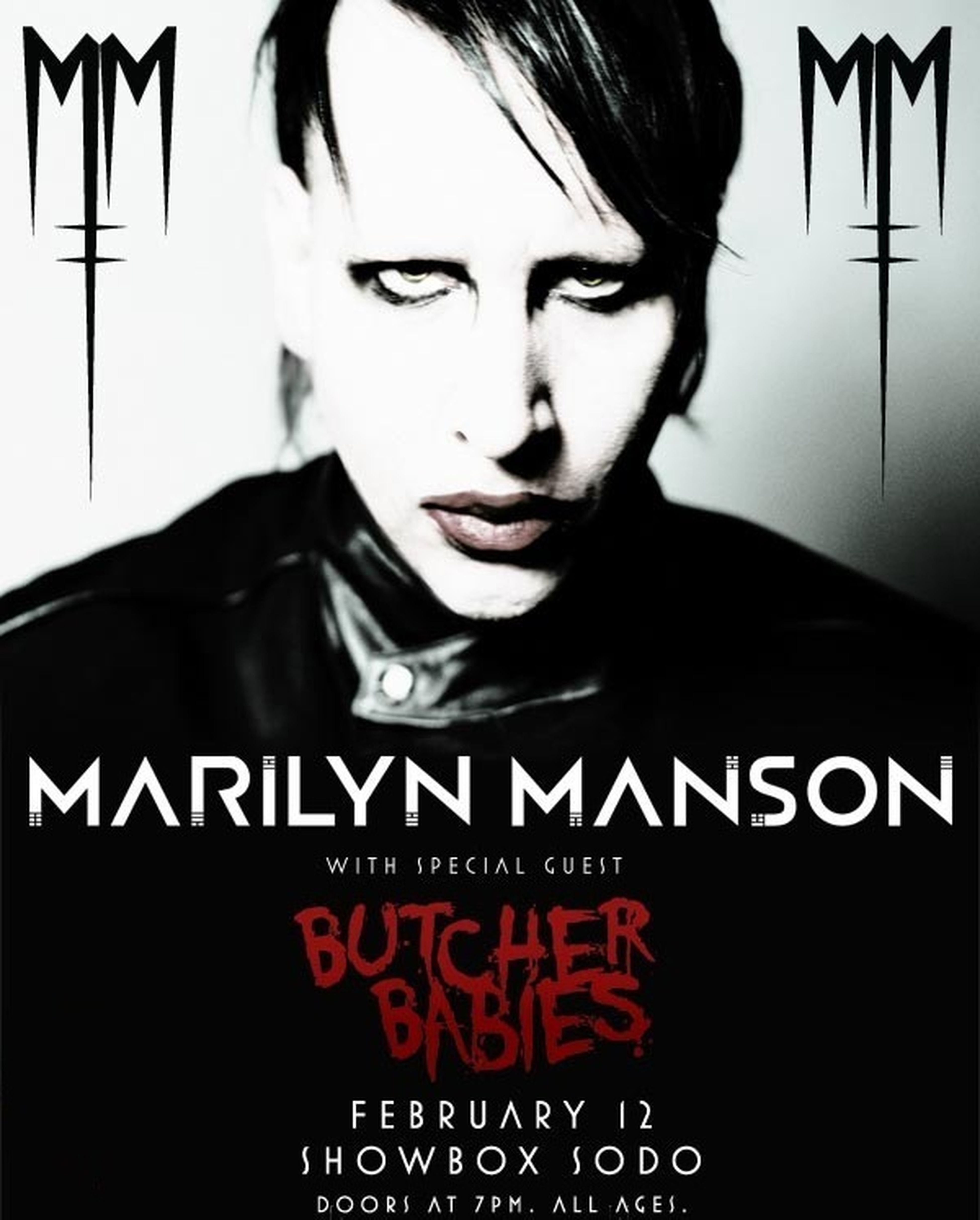 I Think Im The Only Black Person Dat Listen To Marilyn Manson