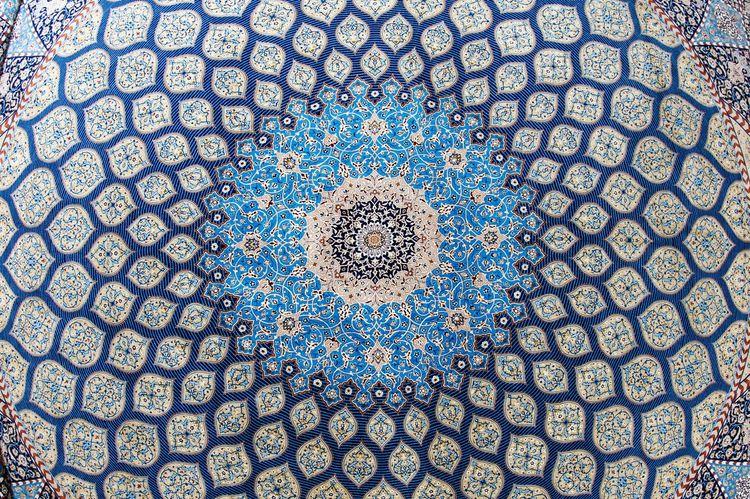 Carpet Persian Carpet Persian Carpet & Rug Rugs Persian Art Persian Handcraft Fisheye Lens Deceptively Simple