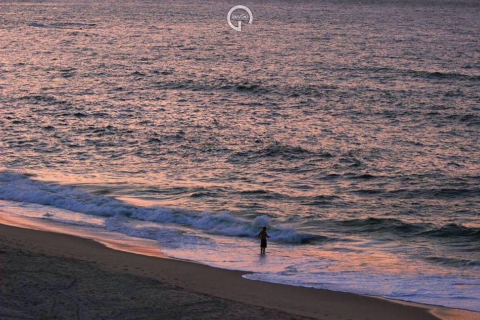 Sunset Ocean Sea Surfing