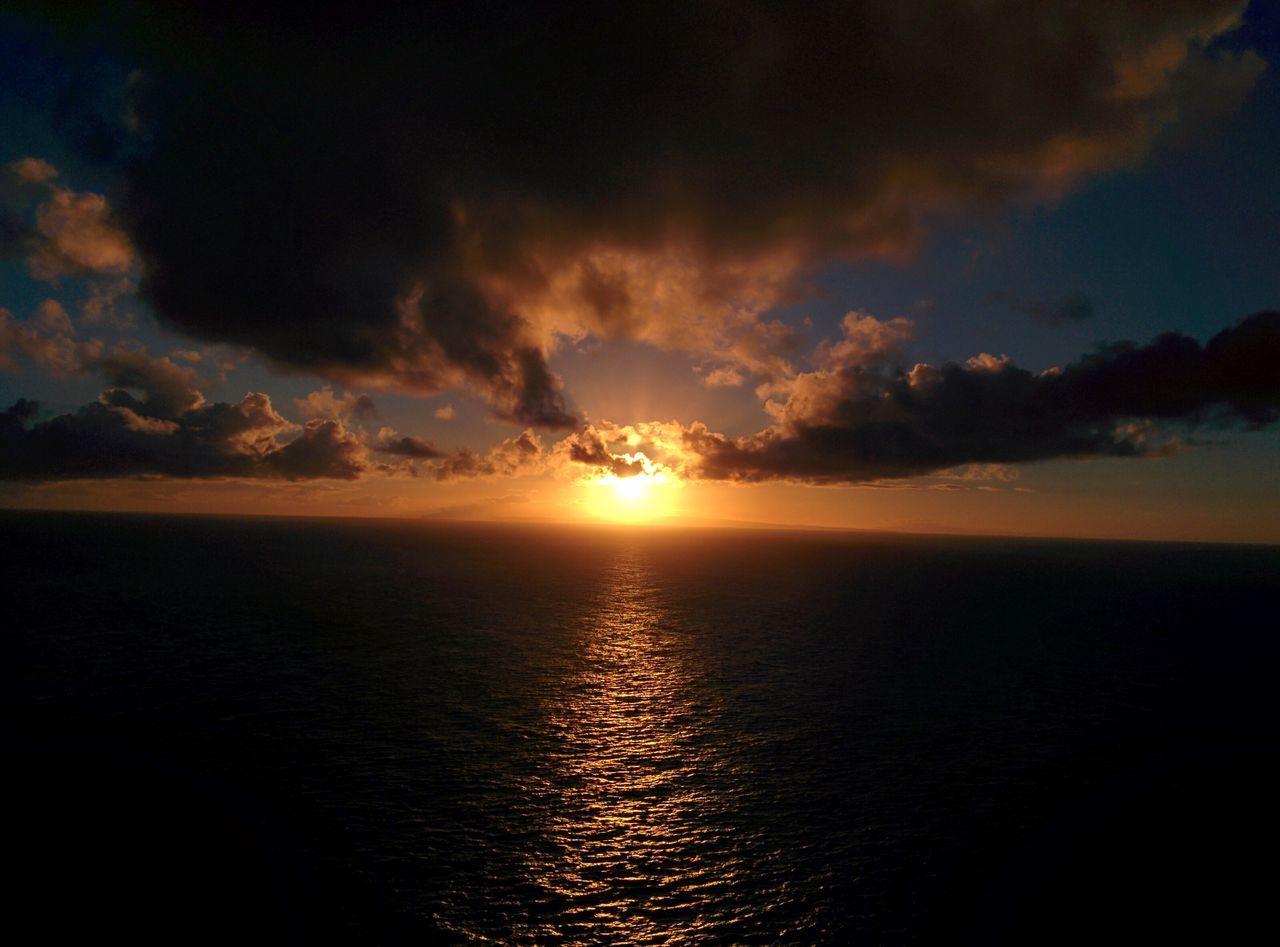 Lighthouse Trail Sunrise in Hawai'i