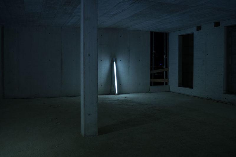 AUDI - LIGHT 0711 Basement Built Structure Constantinschiller Construction Construction Site Herrschiller Light Light And Shadow Neon Neon Lights Stuttgart