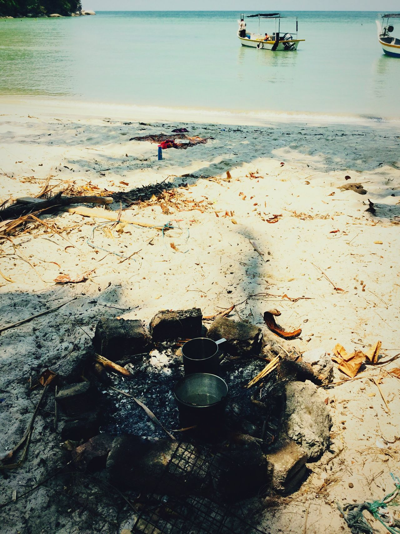 Camping Penang Islandlife My Unique Style Paradise Jungle Beach White Sand Beach Monkey Beach Nature The Great Outdoors Campfire