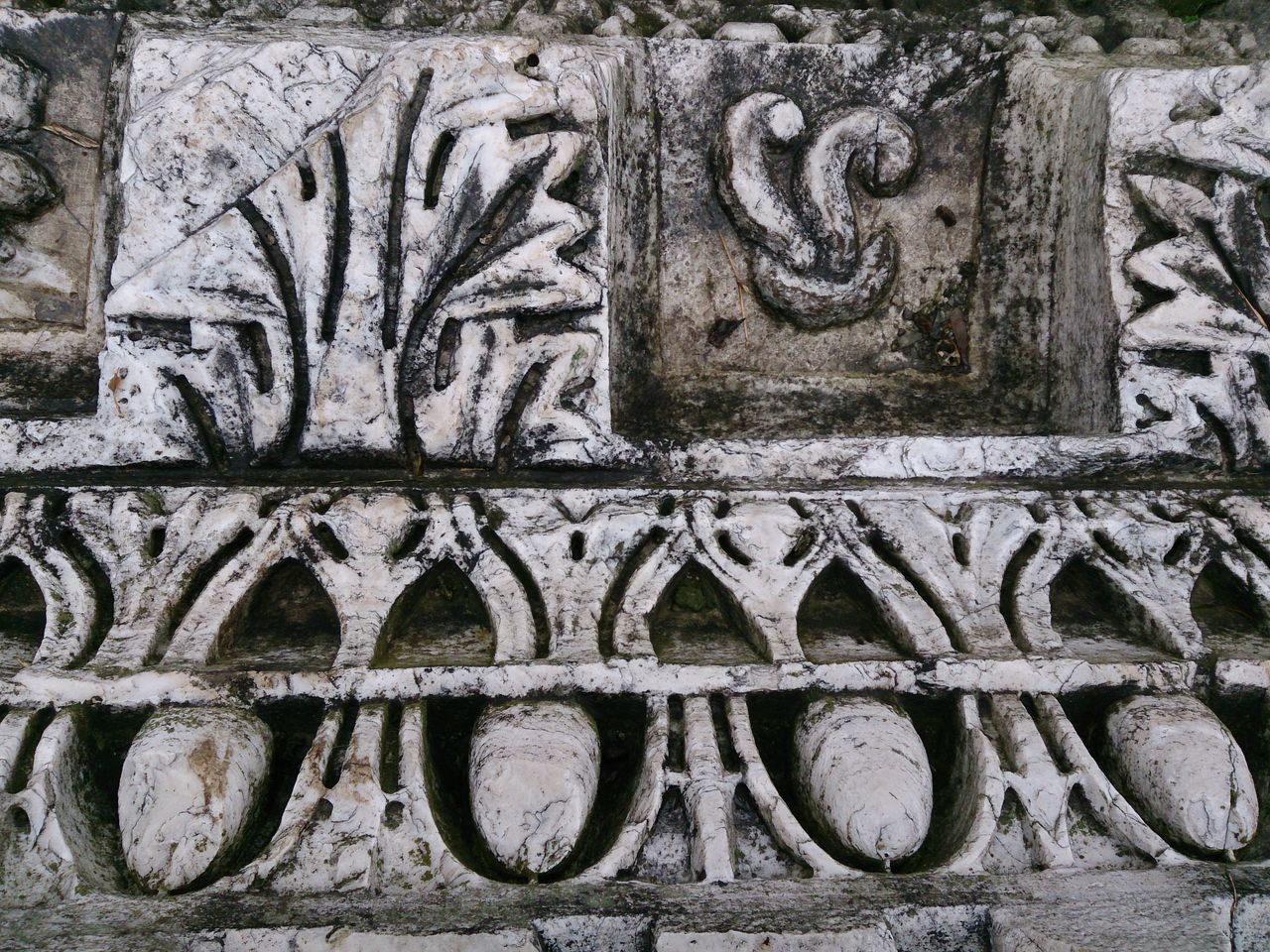 Architectural Detail Of Old Wall
