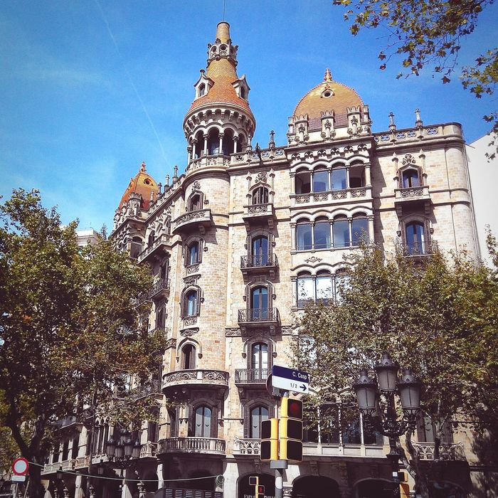 Building in Catalonia style
