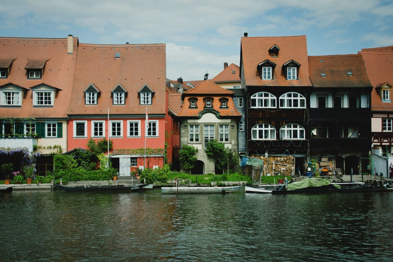 Bamberg  Riverside River View Traditional House Stillness In Time Old House Germany My Eyes For Architecture Riverside View Quite Place My Eyes My Franken Urban Exploration Architecture GetYourGuide Cityscapes Fine Art International Landmark Wrinkles Of The City  Historical Building Urban Spring Fever Transportation Urban Geometry The Architect - 2016 EyeEm Awards Culture Of Germany Fine Art Photography