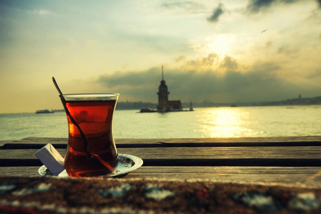 Maidentower Maiden Maiden Tower Istanbul Tea Tea Time Relax View Port Turkish Tea Turkish Tea Culture TeaCup Turkish Teacup River Riverside Travel Sunset Sunlight Sunshine Neighborhood Map