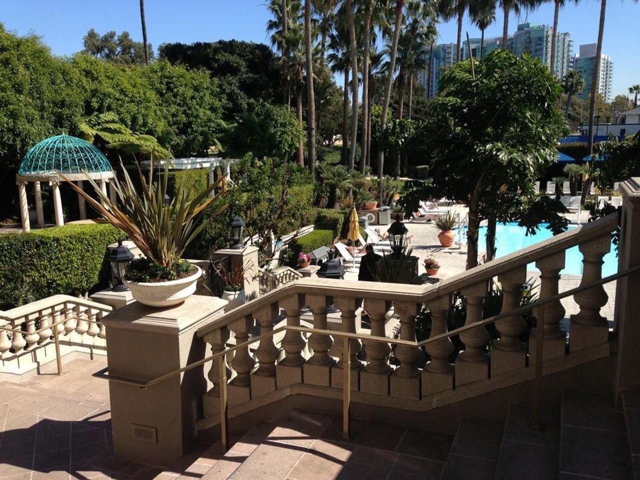 California Marina The Ritz-Carlton Pool Tropical Garden Stairs Courtyard