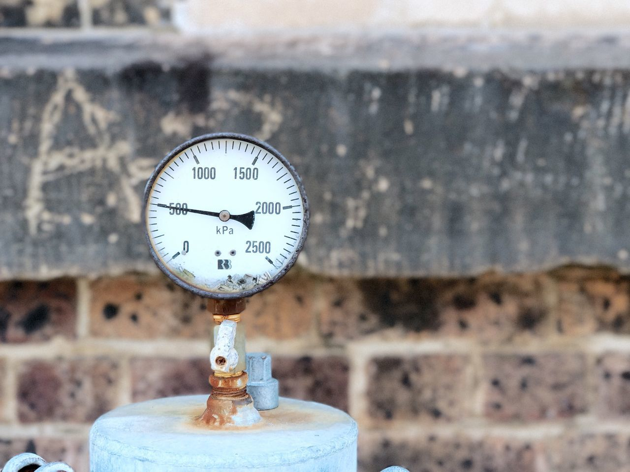 Focus On Foreground Close-up Gauge Thermometer Pressure Gauge No People Day
