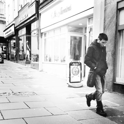 streetbw at Bath by msiagirl