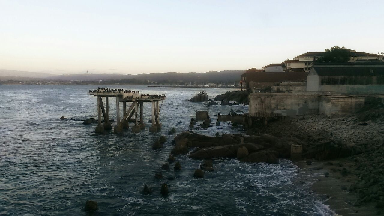 Monterey Ca CanneryRow Ocean Urbanexploration From The Rooftop Abandoned Buildingsaban