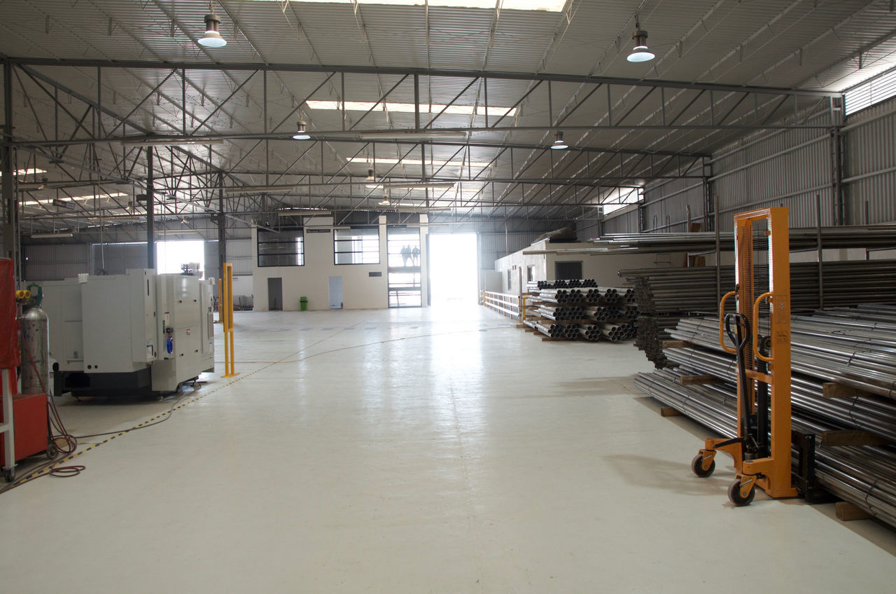 Day Equipment Factory Indoors  Industry Manufacturing Equipment No People Warehouse