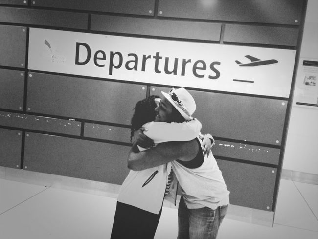 Goodbyes are never easy..
