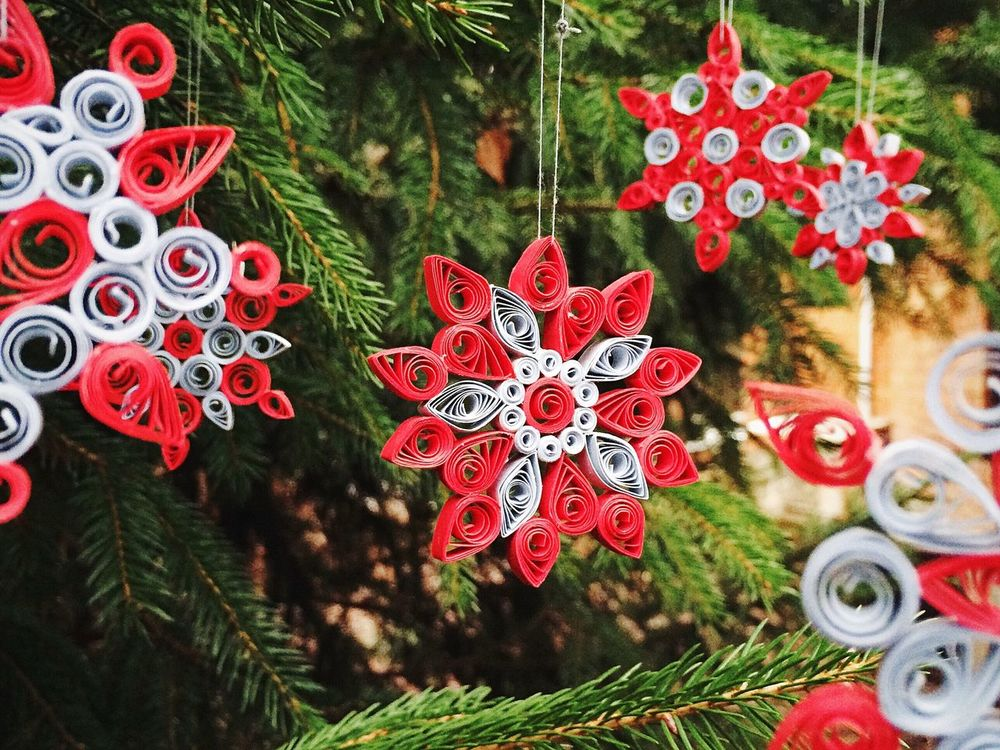 Snowflake Snow Christmas Tree My Hobby Quilling Quilling Paper квиллинг снежинка техника Make It Yourself