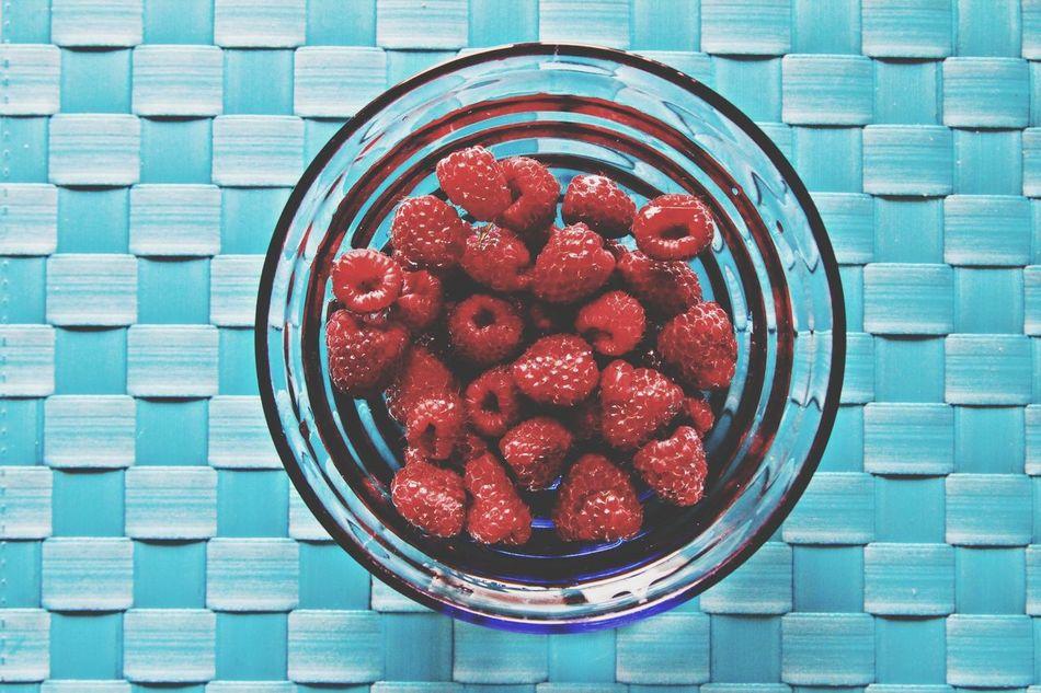 Summer Food Raspberries Love