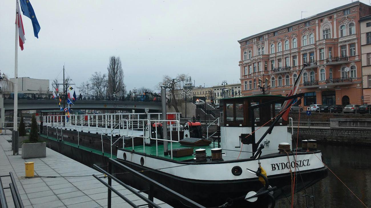 Gondola Bydgoszcz Brda River Mytownmyplace